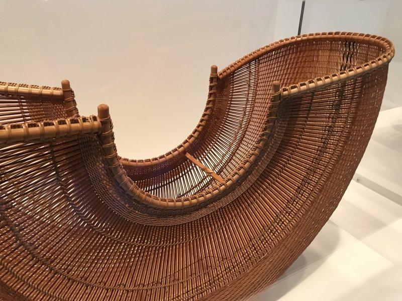 Vue de l'exposition Fendre l'air, l'art du bambou au Japon - Musée du Quai Branly - Jacques Chirac (16) (1)