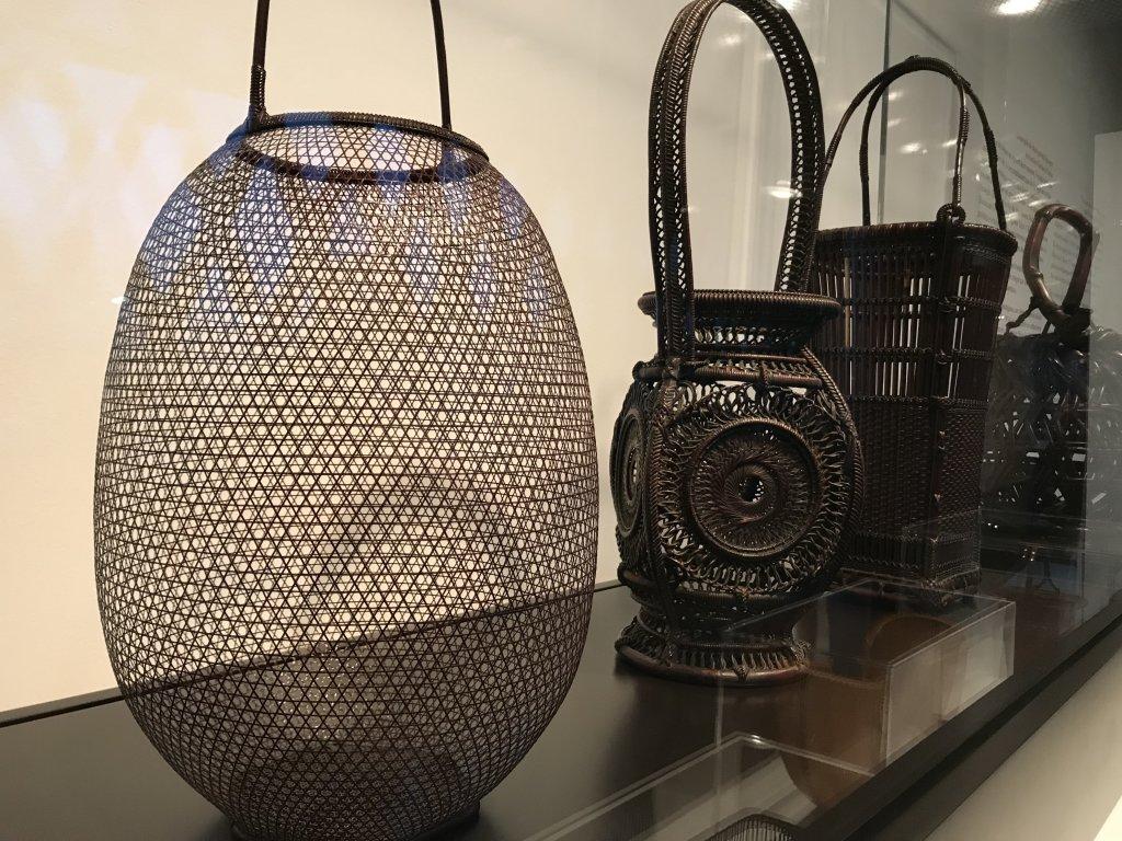Vue de l'exposition Fendre l'air, l'art du bambou au Japon - Musée du Quai Branly - Jacques Chirac (18)