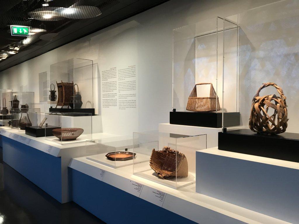 Vue de l'exposition Fendre l'air, l'art du bambou au Japon - Musée du Quai Branly - Jacques Chirac (19)