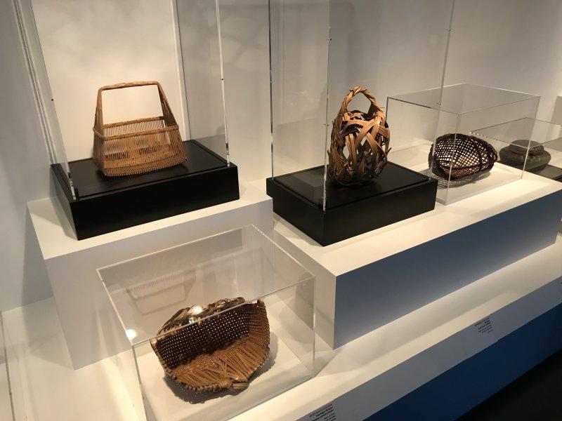 Vue de l'exposition Fendre l'air, l'art du bambou au Japon - Musée du Quai Branly - Jacques Chirac (20)