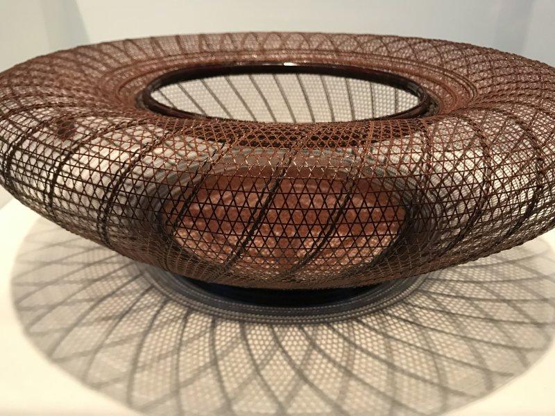 Vue de l'exposition Fendre l'air, l'art du bambou au Japon - Musée du Quai Branly - Jacques Chirac (22)