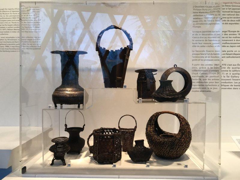 Vue de l'exposition Fendre l'air, l'art du bambou au Japon - Musée du Quai Branly - Jacques Chirac (23)
