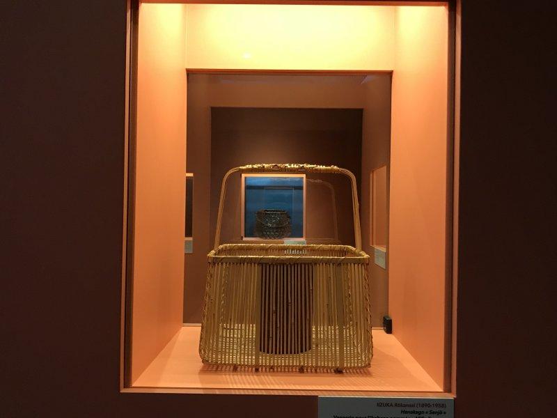 Vue de l'exposition Fendre l'air, l'art du bambou au Japon - Musée du Quai Branly - Jacques Chirac (25)