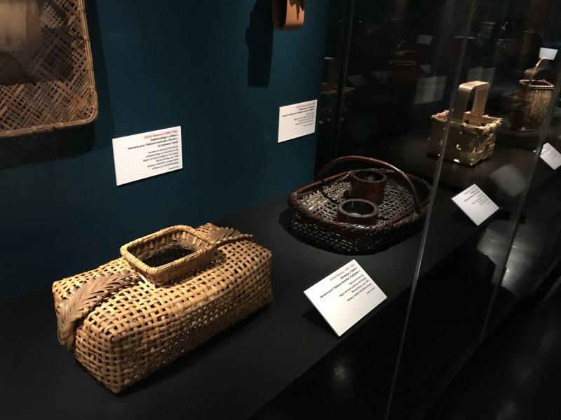 Vue de l'exposition Fendre l'air, l'art du bambou au Japon - Musée du Quai Branly - Jacques Chirac (26)