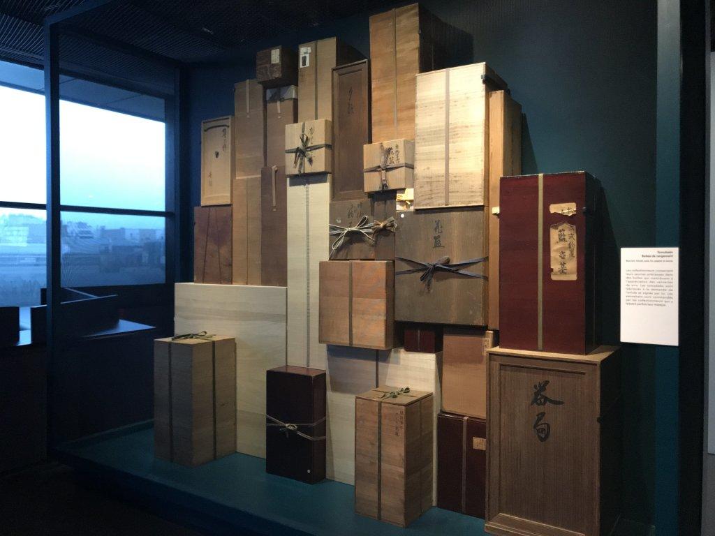 Vue de l'exposition Fendre l'air, l'art du bambou au Japon - Musée du Quai Branly - Jacques Chirac (30)