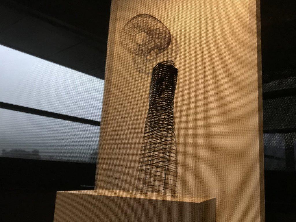 Vue de l'exposition Fendre l'air, l'art du bambou au Japon - Musée du Quai Branly - Jacques Chirac (37)