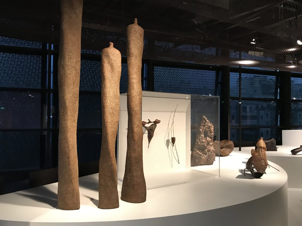 Vue de l'exposition Fendre l'air, l'art du bambou au Japon - Musée du Quai Branly - Jacques Chirac (38)