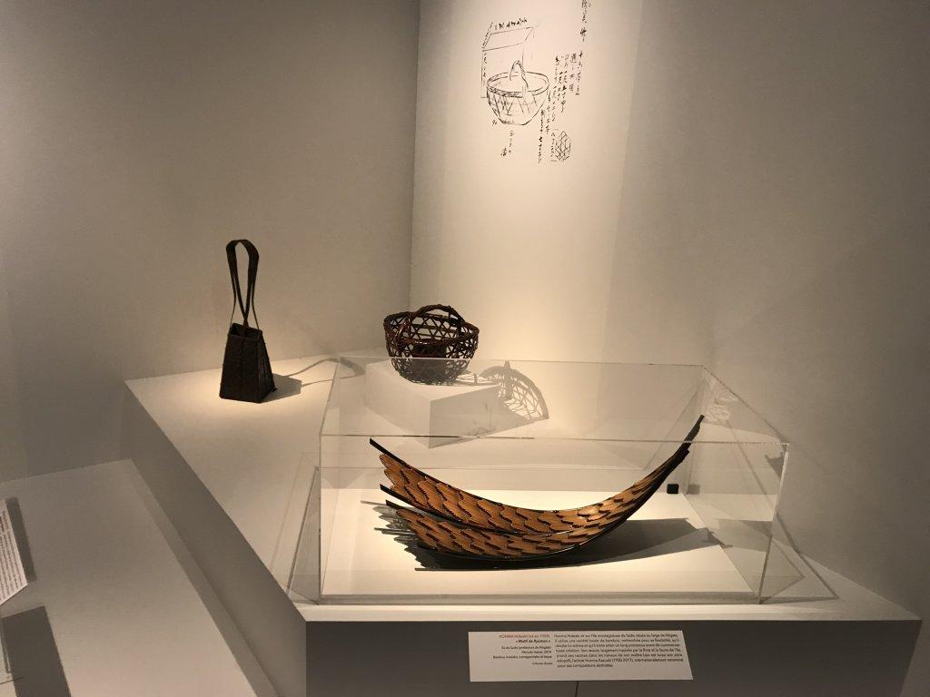 Vue de l'exposition Fendre l'air, l'art du bambou au Japon - Musée du Quai Branly - Jacques Chirac (4)