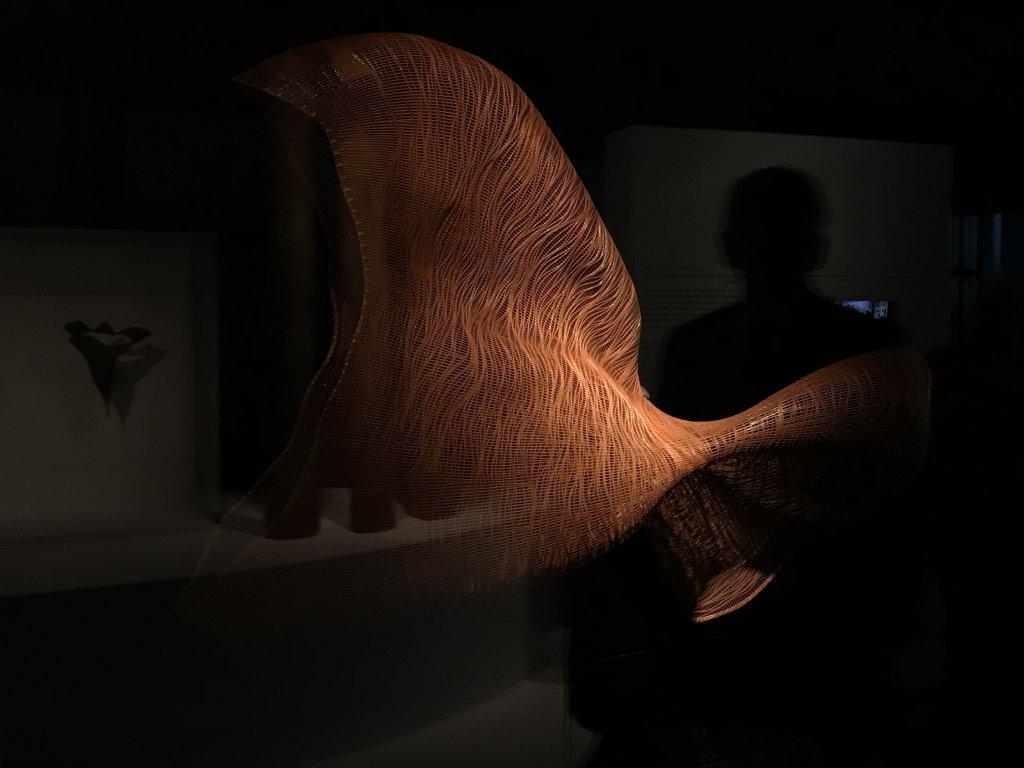 Vue de l'exposition Fendre l'air, l'art du bambou au Japon - Musée du Quai Branly - Jacques Chirac (43)