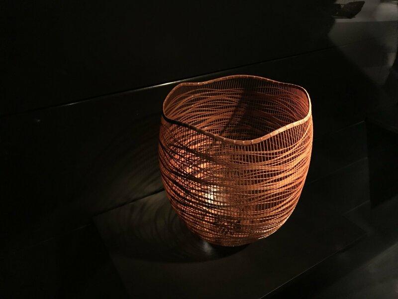 Vue de l'exposition Fendre l'air, l'art du bambou au Japon - Musée du Quai Branly - Jacques Chirac (47)