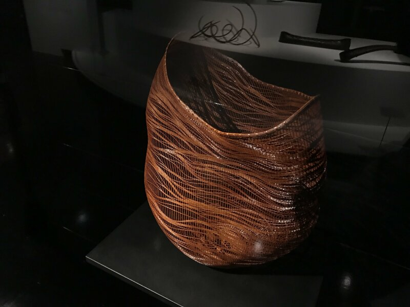 Vue de l'exposition Fendre l'air, l'art du bambou au Japon - Musée du Quai Branly - Jacques Chirac (48)