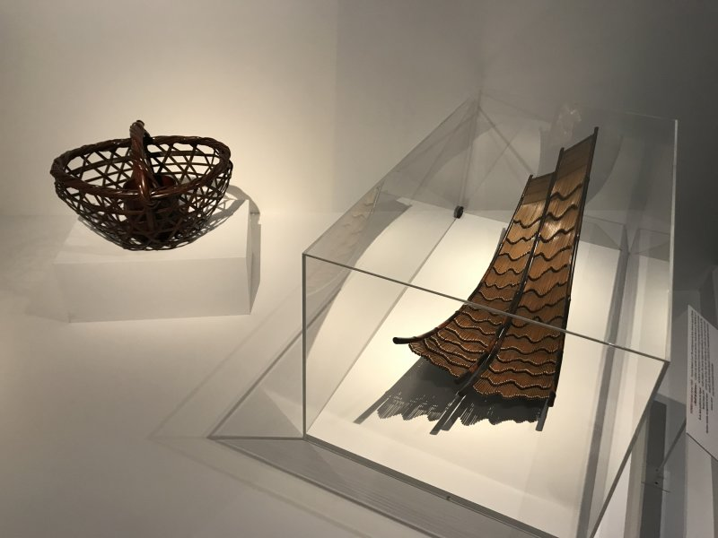 Vue de l'exposition Fendre l'air, l'art du bambou au Japon - Musée du Quai Branly - Jacques Chirac (5)