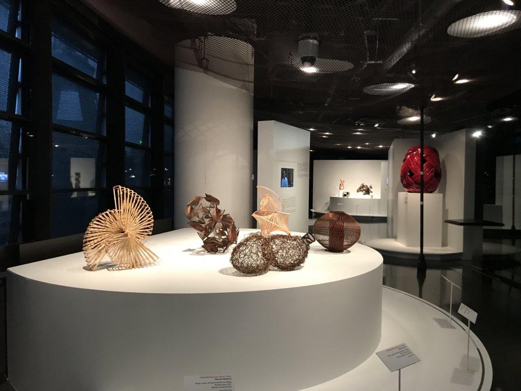 Vue de l'exposition Fendre l'air, l'art du bambou au Japon - Musée du Quai Branly - Jacques Chirac (50)