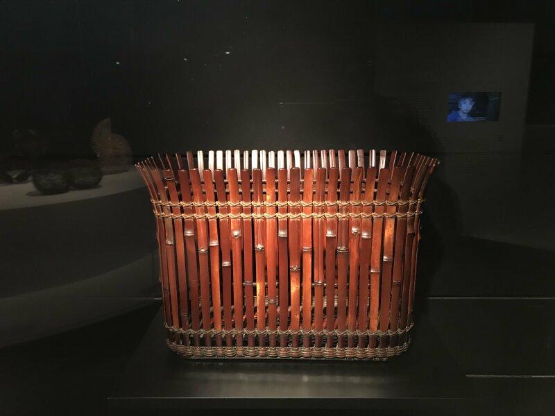 Vue de l'exposition Fendre l'air, l'art du bambou au Japon - Musée du Quai Branly - Jacques Chirac (53)