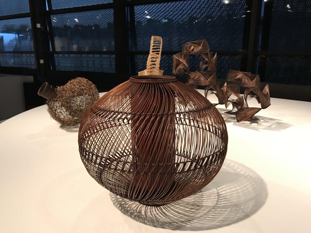 Vue de l'exposition Fendre l'air, l'art du bambou au Japon - Musée du Quai Branly - Jacques Chirac (54)