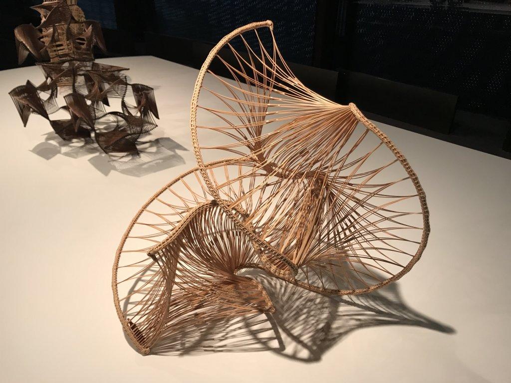 Vue de l'exposition Fendre l'air, l'art du bambou au Japon - Musée du Quai Branly - Jacques Chirac (55)