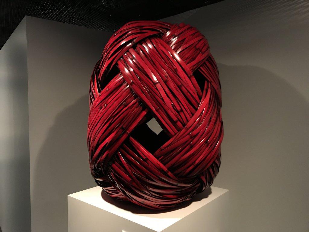 Vue de l'exposition Fendre l'air, l'art du bambou au Japon - Musée du Quai Branly - Jacques Chirac (56)