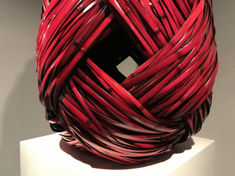 Vue de l'exposition Fendre l'air, l'art du bambou au Japon - Musée du Quai Branly - Jacques Chirac (59)