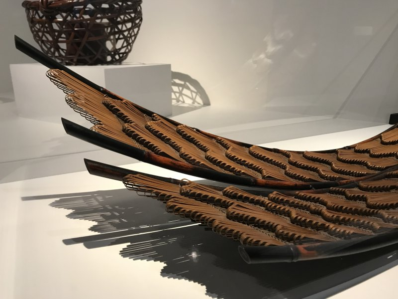 Vue de l'exposition Fendre l'air, l'art du bambou au Japon - Musée du Quai Branly - Jacques Chirac (6)