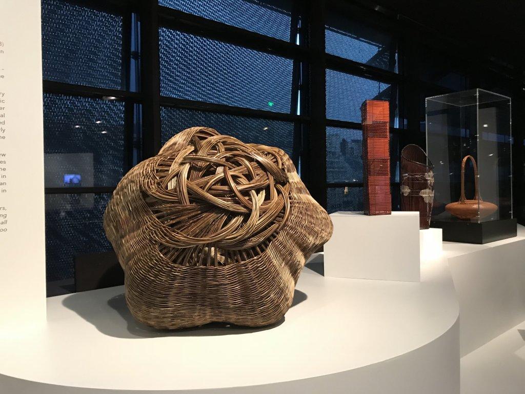 Vue de l'exposition Fendre l'air, l'art du bambou au Japon - Musée du Quai Branly - Jacques Chirac (60)