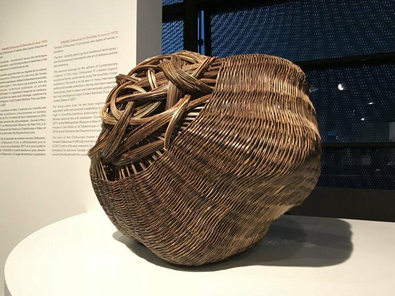 Vue de l'exposition Fendre l'air, l'art du bambou au Japon - Musée du Quai Branly - Jacques Chirac (61)