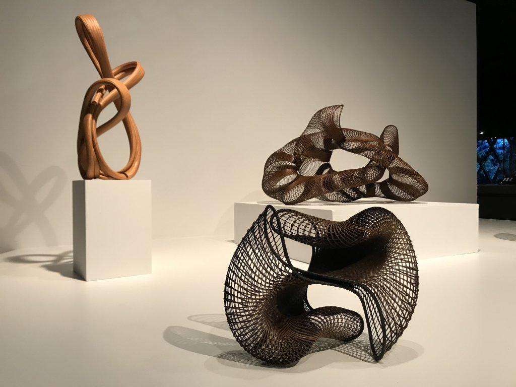 Vue de l'exposition Fendre l'air, l'art du bambou au Japon - Musée du Quai Branly - Jacques Chirac (65)