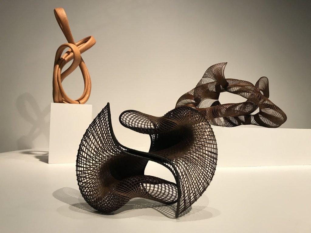 Vue de l'exposition Fendre l'air, l'art du bambou au Japon - Musée du Quai Branly - Jacques Chirac (67)