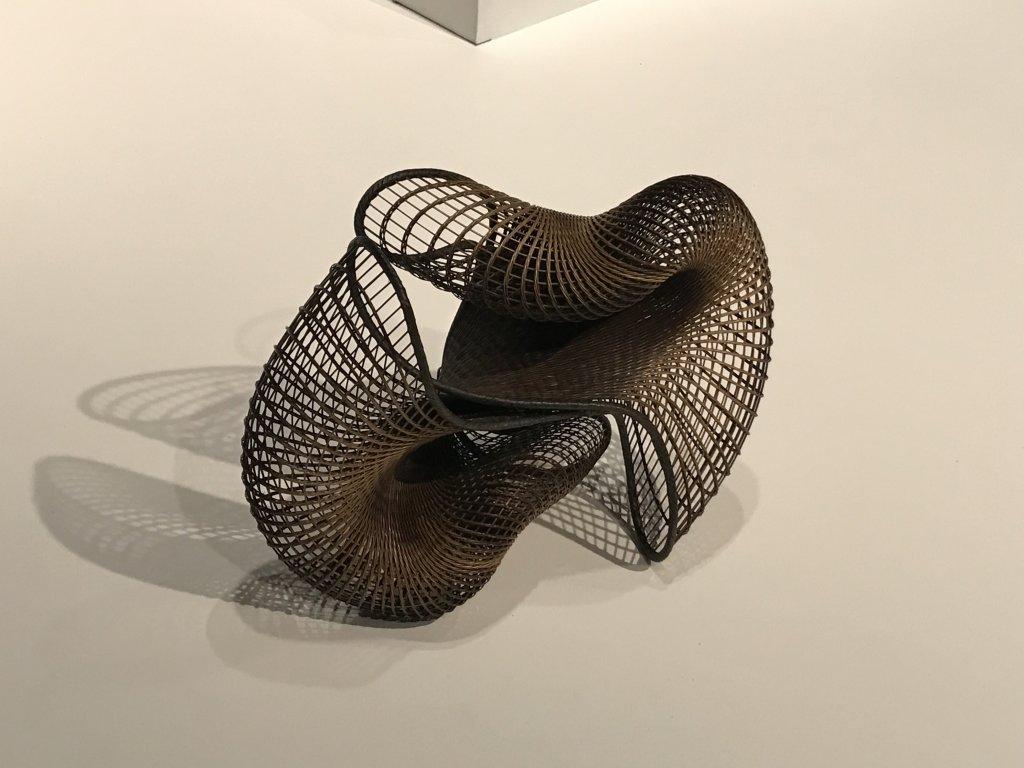 Vue de l'exposition Fendre l'air, l'art du bambou au Japon - Musée du Quai Branly - Jacques Chirac (68)