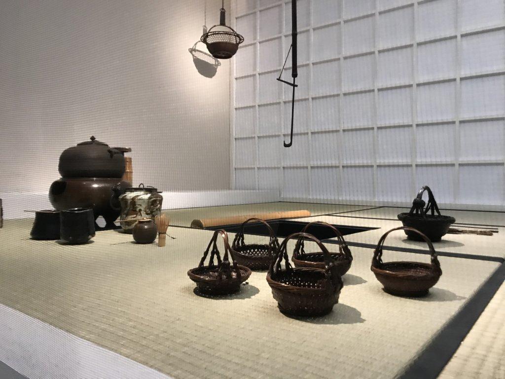 Vue de l'exposition Fendre l'air, l'art du bambou au Japon - Musée du Quai Branly - Jacques Chirac (8)
