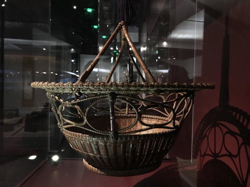 Vue de l'exposition Fendre l'air, l'art du bambou au Japon - Musée du Quai Branly - Jacques Chirac (9)