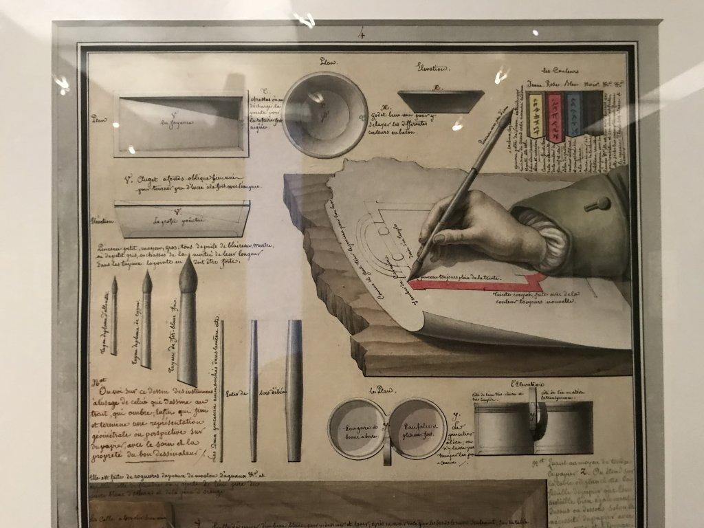 Vue de l'exposition Jean-Jacques Lequeu, Bâtisseur de fantasmes - Petit Palais (11)