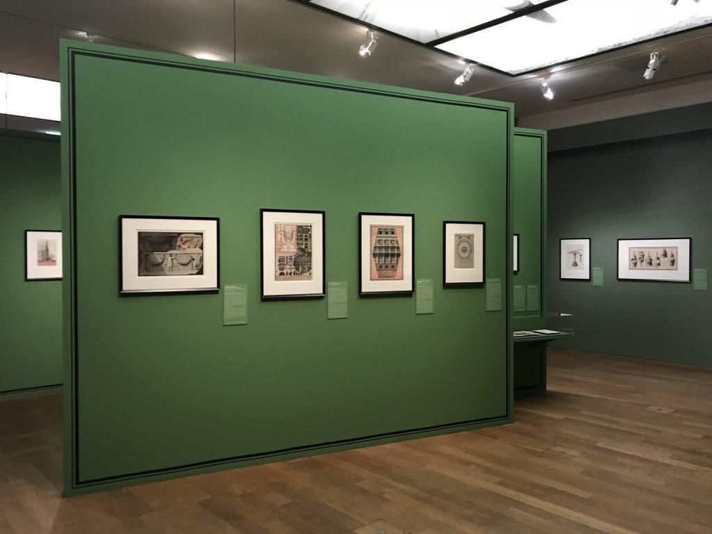 Vue de l'exposition Jean-Jacques Lequeu, Bâtisseur de fantasmes - Petit Palais (12)