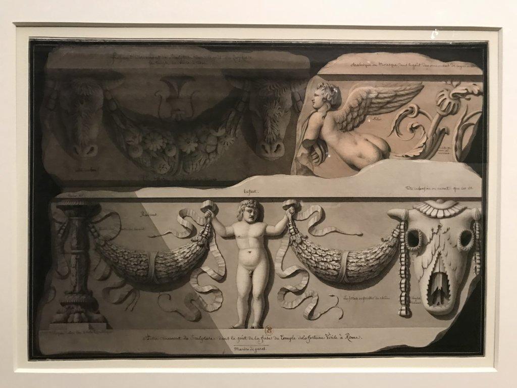 Vue de l'exposition Jean-Jacques Lequeu, Bâtisseur de fantasmes - Petit Palais (13)