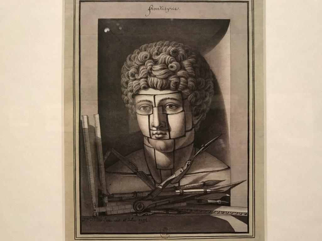 Vue de l'exposition Jean-Jacques Lequeu, Bâtisseur de fantasmes - Petit Palais (14)