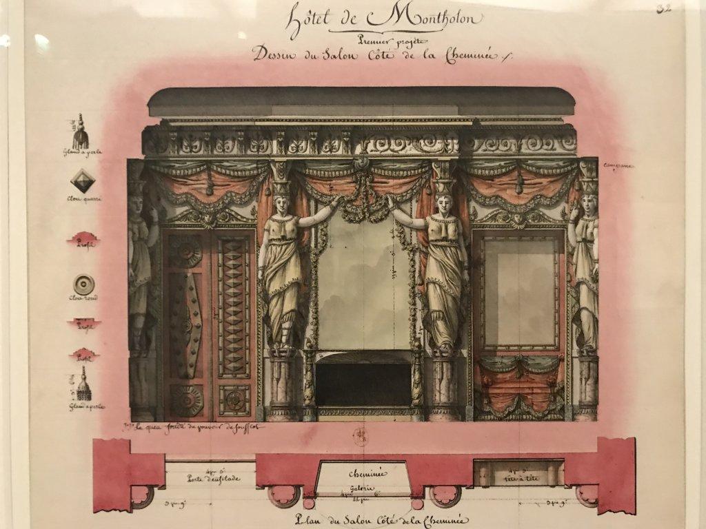 Vue de l'exposition Jean-Jacques Lequeu, Bâtisseur de fantasmes - Petit Palais (17)