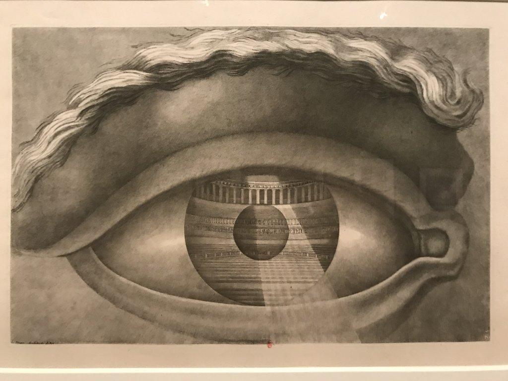 Vue de l'exposition Jean-Jacques Lequeu, Bâtisseur de fantasmes - Petit Palais (22)