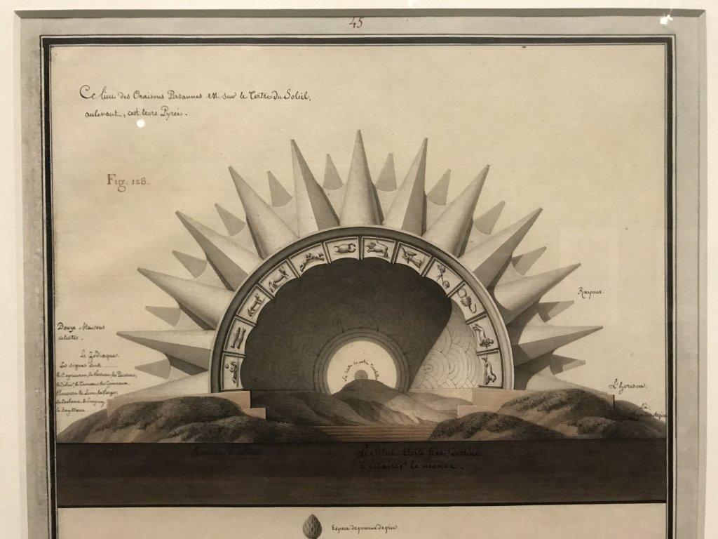 Vue de l'exposition Jean-Jacques Lequeu, Bâtisseur de fantasmes - Petit Palais (23)