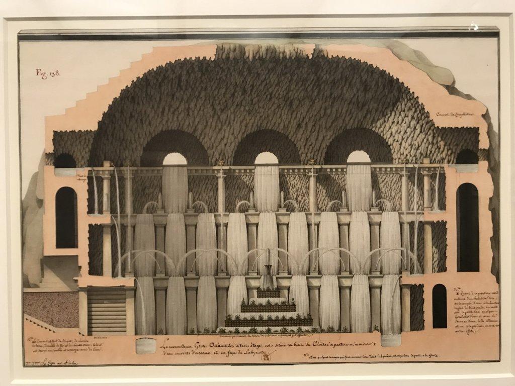 Vue de l'exposition Jean-Jacques Lequeu, Bâtisseur de fantasmes - Petit Palais (26)