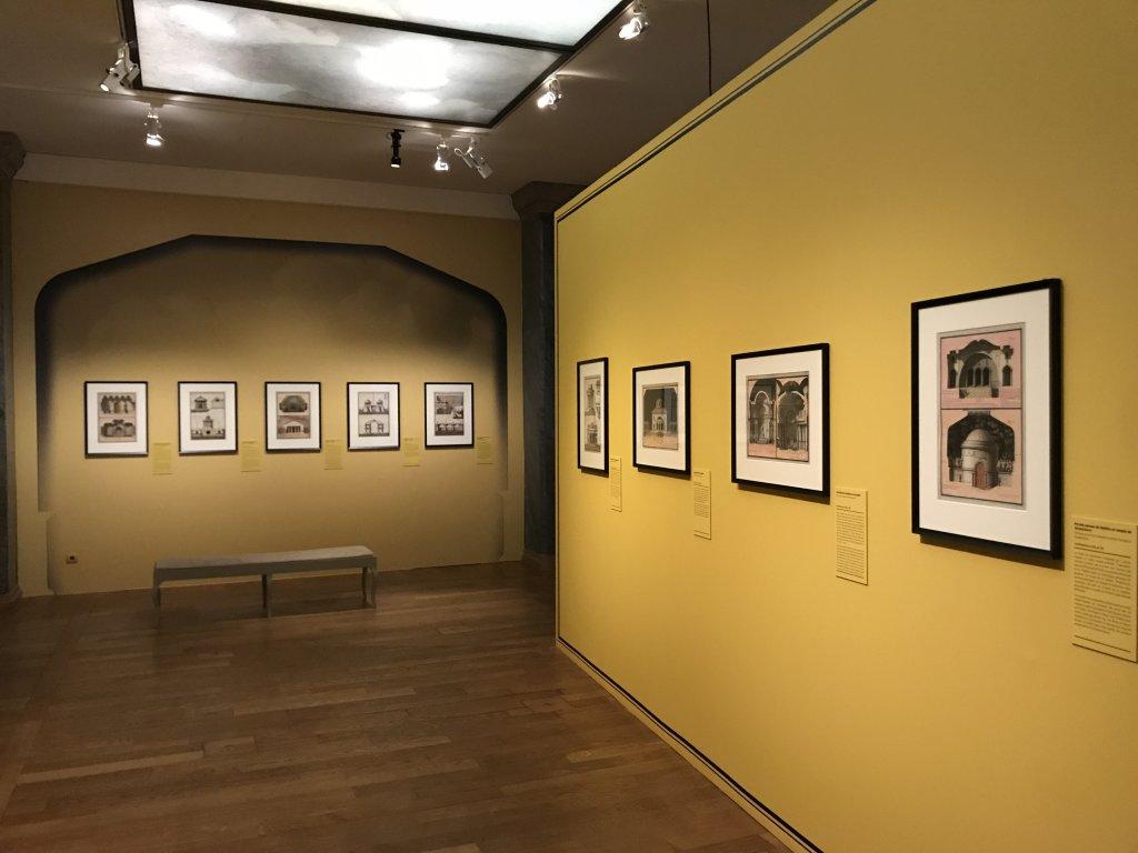 Vue de l'exposition Jean-Jacques Lequeu, Bâtisseur de fantasmes - Petit Palais (34)