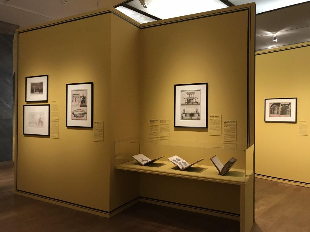 Vue de l'exposition Jean-Jacques Lequeu, Bâtisseur de fantasmes - Petit Palais (52)
