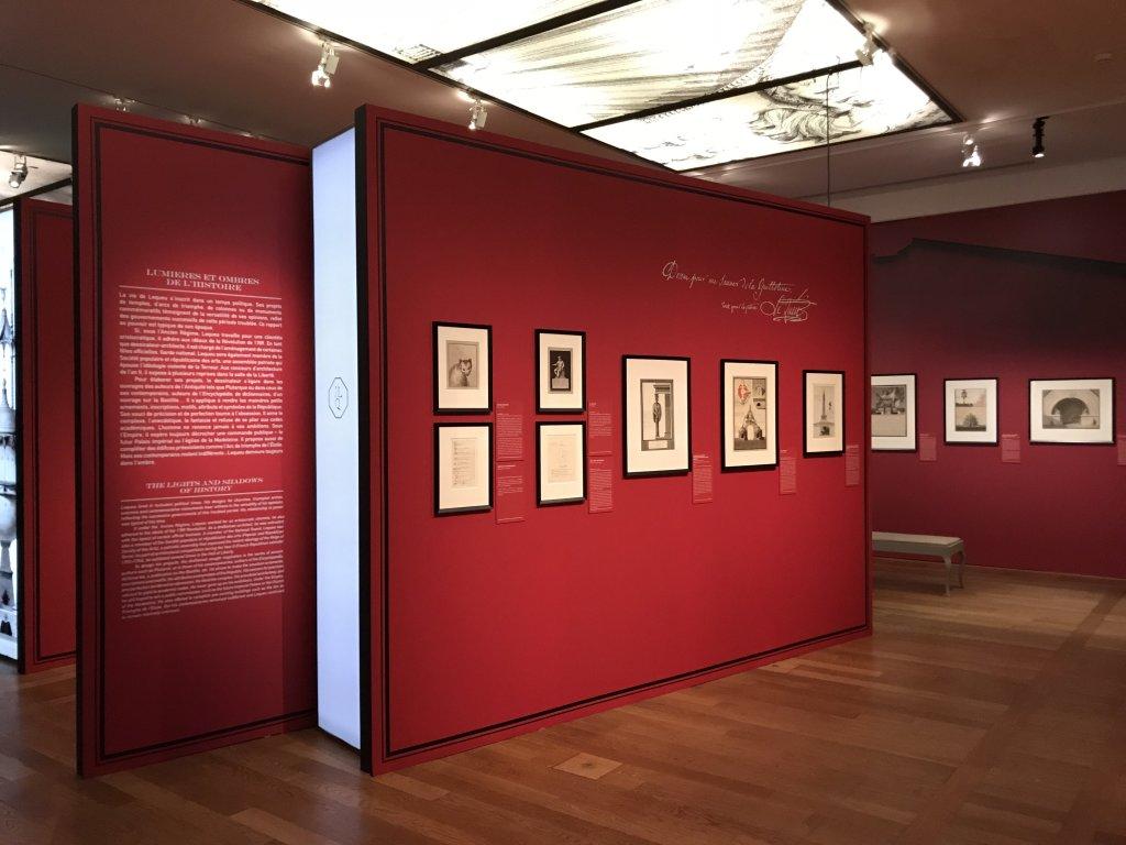 Vue de l'exposition Jean-Jacques Lequeu, Bâtisseur de fantasmes - Petit Palais (55)