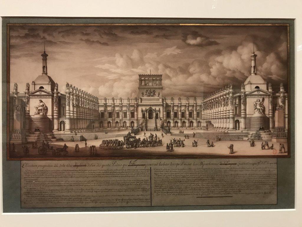 Vue de l'exposition Jean-Jacques Lequeu, Bâtisseur de fantasmes - Petit Palais (58)