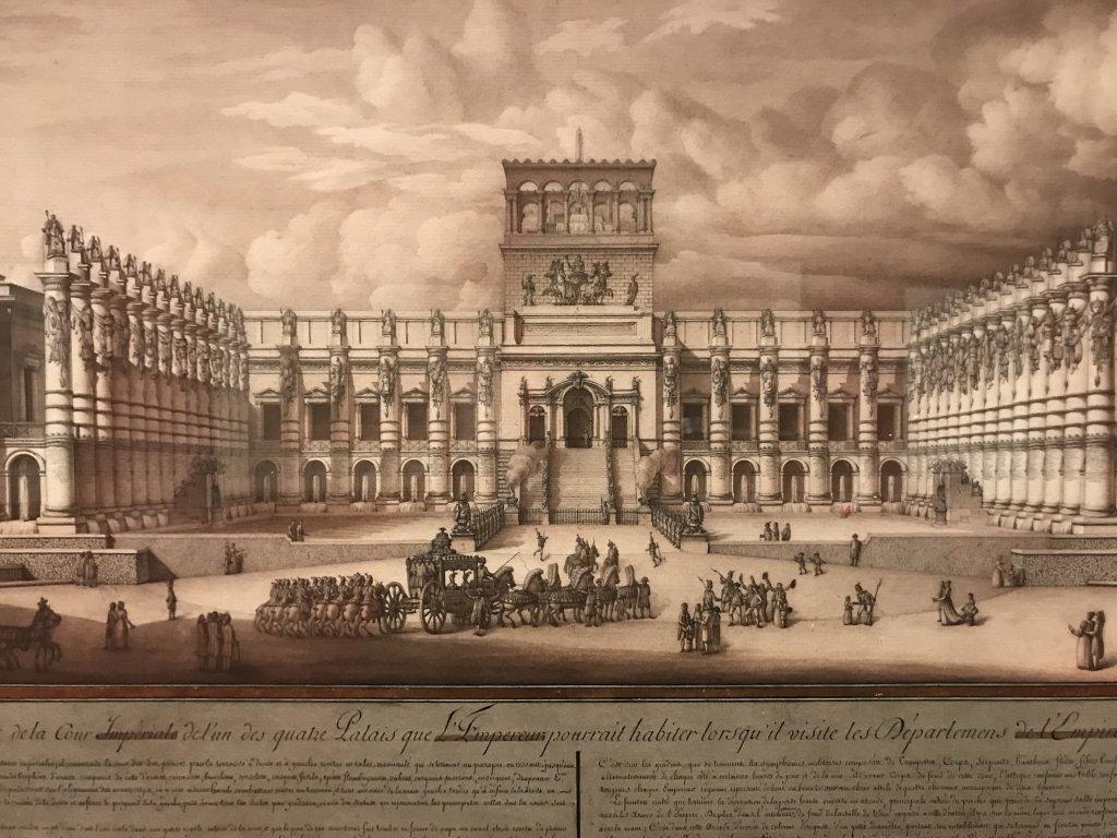 Vue de l'exposition Jean-Jacques Lequeu, Bâtisseur de fantasmes - Petit Palais (59)