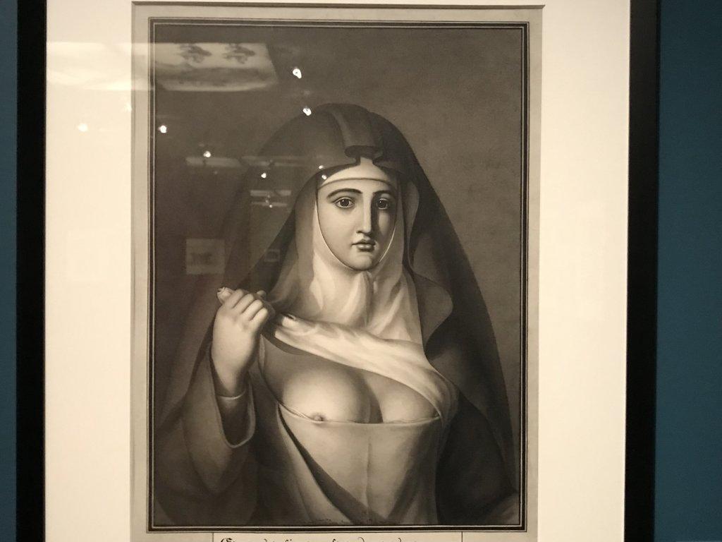 Vue de l'exposition Jean-Jacques Lequeu, Bâtisseur de fantasmes - Petit Palais (65)