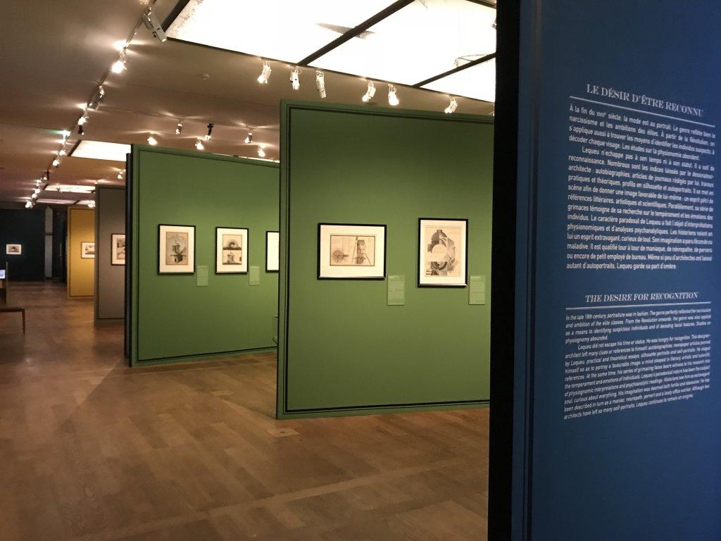 Vue de l'exposition Jean-Jacques Lequeu, Bâtisseur de fantasmes - Petit Palais (8)