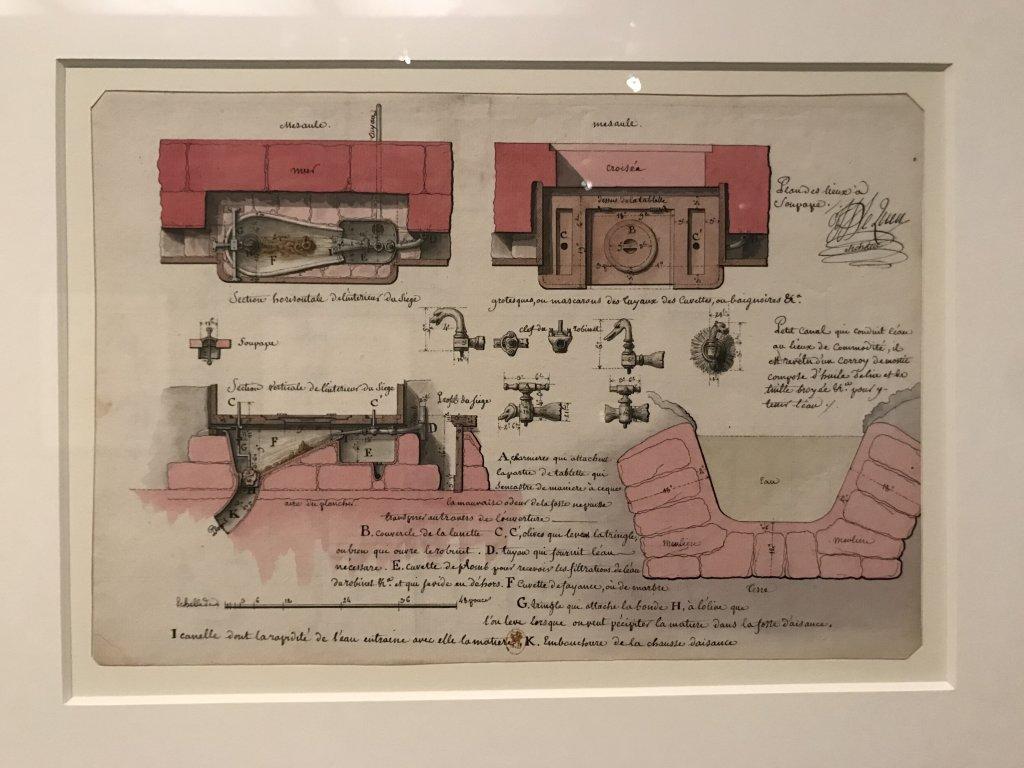 Vue de l'exposition Jean-Jacques Lequeu, Bâtisseur de fantasmes - Petit Palais (9)