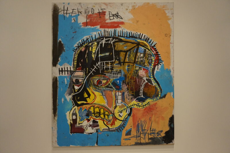 Vue de l'exposition Jean-Michel Basquiat - Fondation Louis Vuitton (31)
