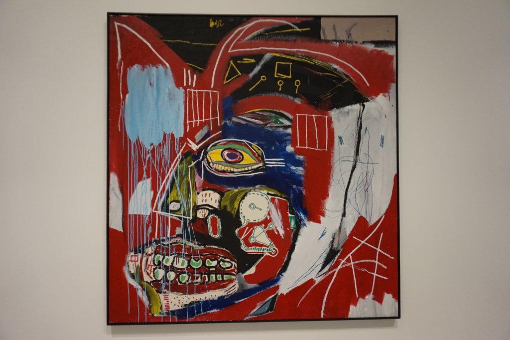 Vue de l'exposition Jean-Michel Basquiat - Fondation Louis Vuitton (32)