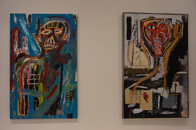 Vue de l'exposition Jean-Michel Basquiat - Fondation Louis Vuitton (34)