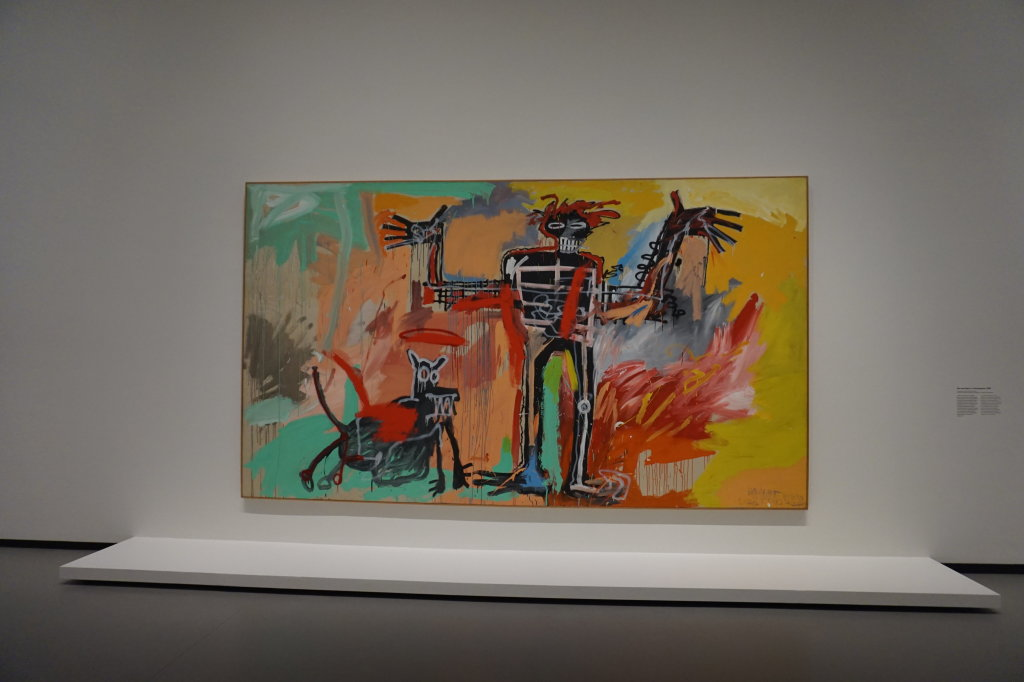 Vue de l'exposition Jean-Michel Basquiat - Fondation Louis Vuitton (37)
